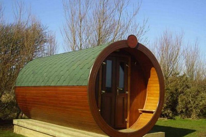 Hobbit Homes - Microlodge, UK