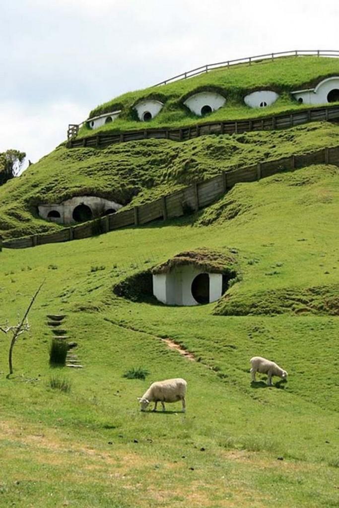 Hobbit Homes - Matamata, New Zealand