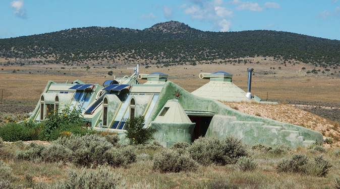 Earthship Biotecture - Taos, New Mexico