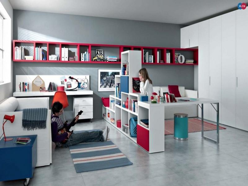 Stylish Room for Teenage Girls Bedroom
