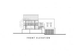 Madura House at Kiribathgoda - Front Elevation
