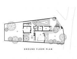 Madura House at Kiribathgoda - Ground Floor Plan