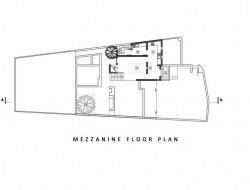Madura House at Kiribathgoda - Mezzanine Floor Plan