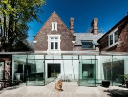 Traditional Brick House With Modern Glass Extension - Hampshire, UK