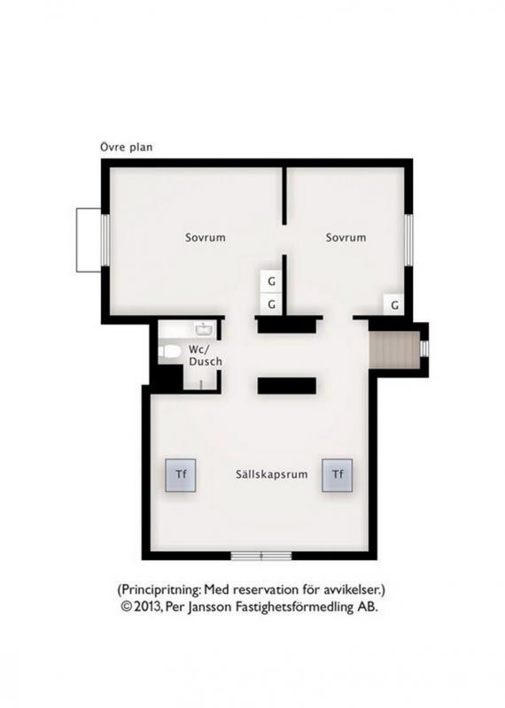 Villa Alfhem - Ovre Plan