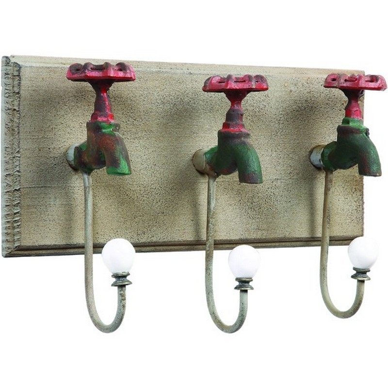Iron Faucet Wall Hooks