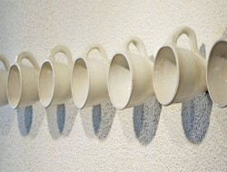 Coffee Cup Hanger Slat Wall Hooks