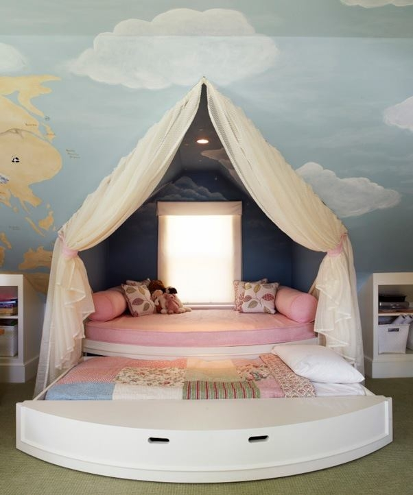 How I wish I had this attic bedroom when I was younger.