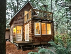 Tiny Cabin with Balcony - Tiny House Talk