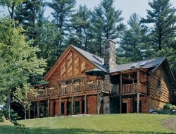 The Rossano Log Home - The Owner Build Network