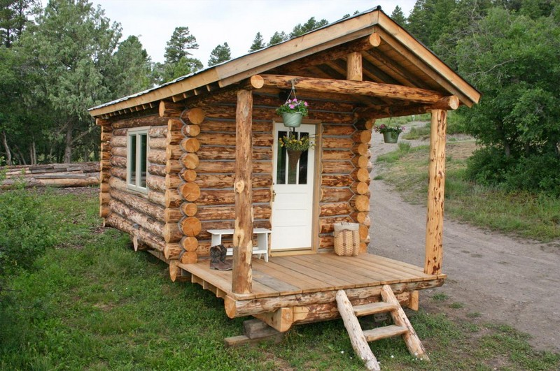 Cozy rustic cabins the owner builder network for Rustic hunting cabins