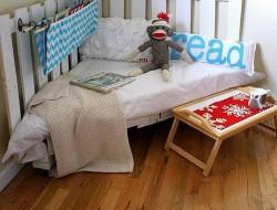 Pallet Reading Nook
