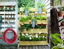 Have you repurposed any pallets? Why not share your ideas by posting directly on our page or by starting your own album at www.inspiration.theownerbuildernetwork.com.au .  There are lots more pallet ideas on our site at