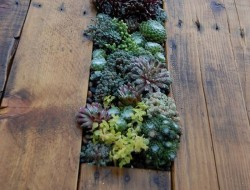 Pallet Herb Table
