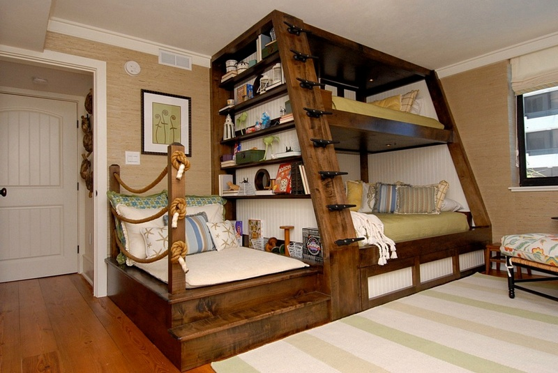 How cool is this bunk bed?