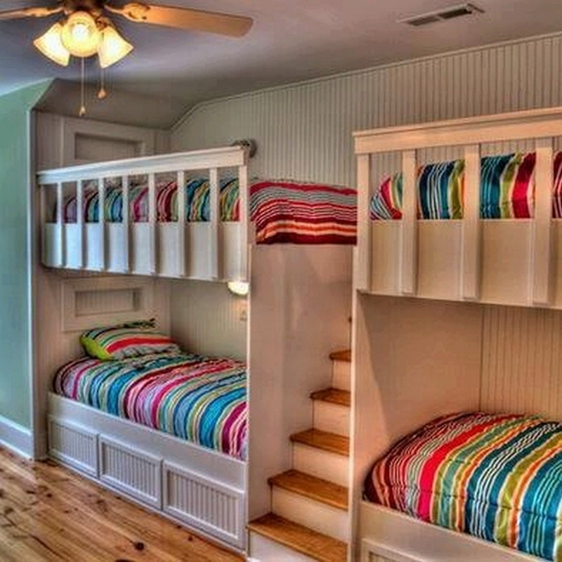 Here's a perfect solution if you have more kids than bedrooms.