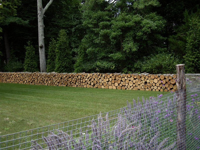 Stacking Firewood - Inspiration Green