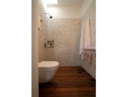 Wooden Slat Floor
