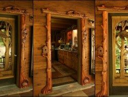 Hand Carved Door Frame