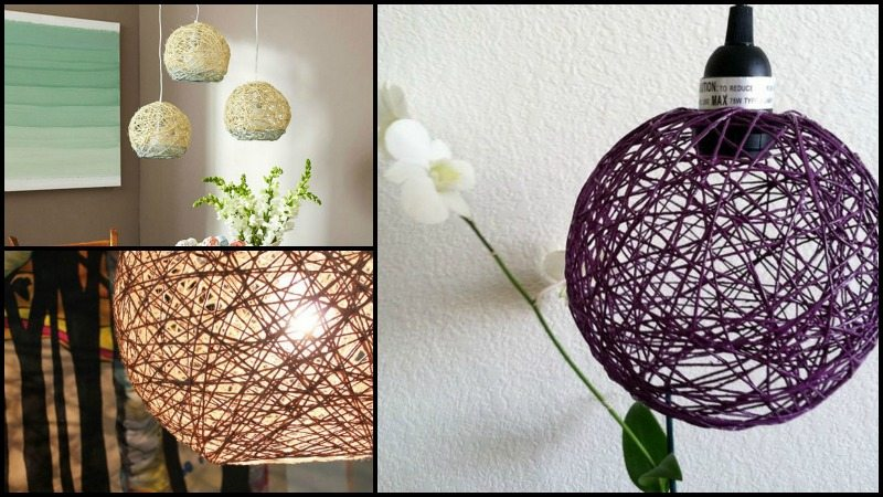 Hemp Pendant Lamp
