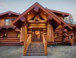 Mountain Log Home Colorado