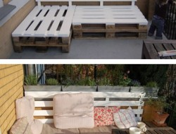 Inexpensive outdoor seating