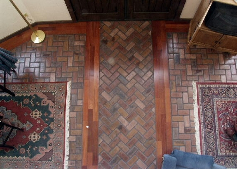 Portstone brick weave