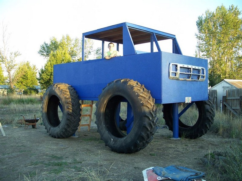 DIY Monster Truck Fort - The Owner-Builder Network