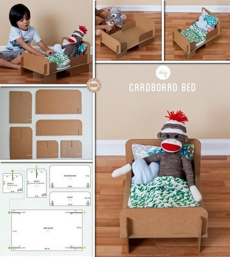DIY Cardboard Bed - The Owner-Builder Network