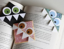 DIY Monster Bookmark - The Owner-Builder Network
