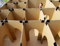 Cardboard Box Maze - imgur