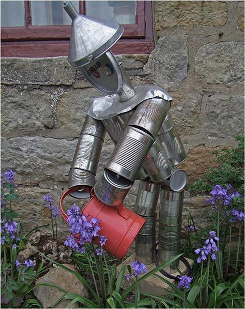 How to Make a Tin Can Man - Recycle Reuse Renew Mother Earth Projects