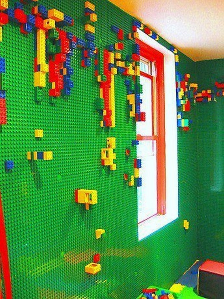 The Ideal LEGO Room: Build a LEGO Wall! - theBrickBlogger