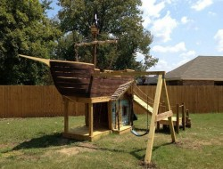 How To Build a Pirate Ship Playground - lemaster63