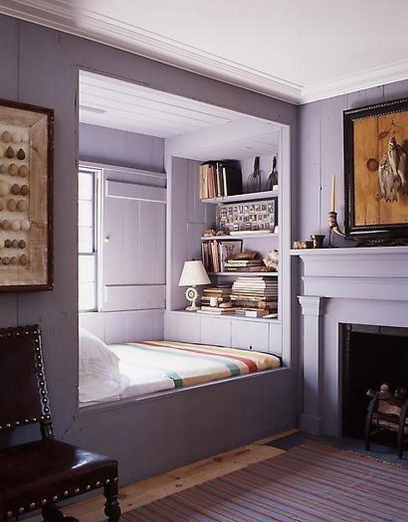 Reading nooks the owner builder network for Bed nook ideas