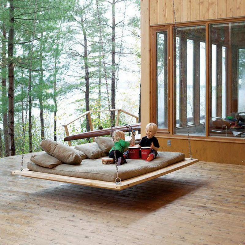 Low Swing Bed