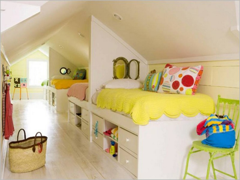 A few months ago we showed you an attic conversion similar to this. This one is a bit more