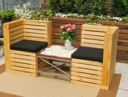 Or garden seating