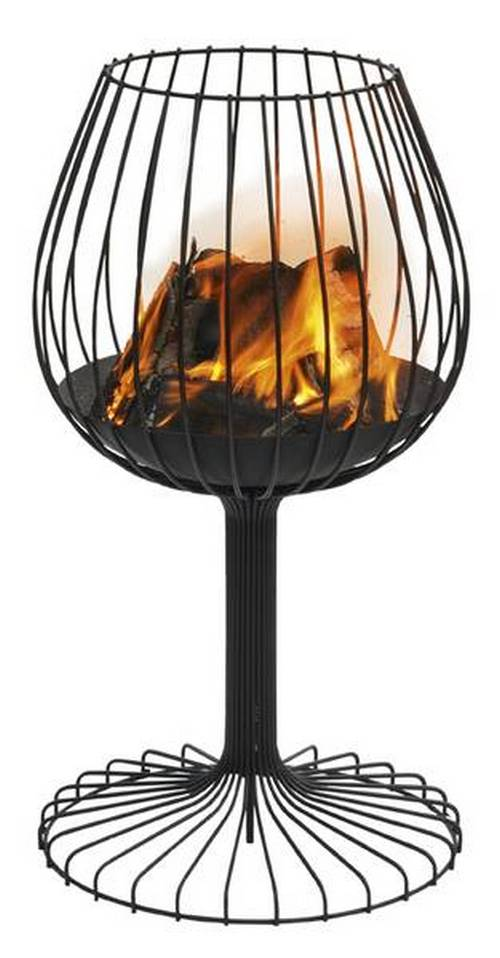 This fire pit by Sywawa is certainly pleasing to the eye, but what are your thoughts on the practicality and functionality of the design?