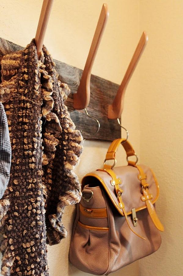 Unique Wooden Coat Rack