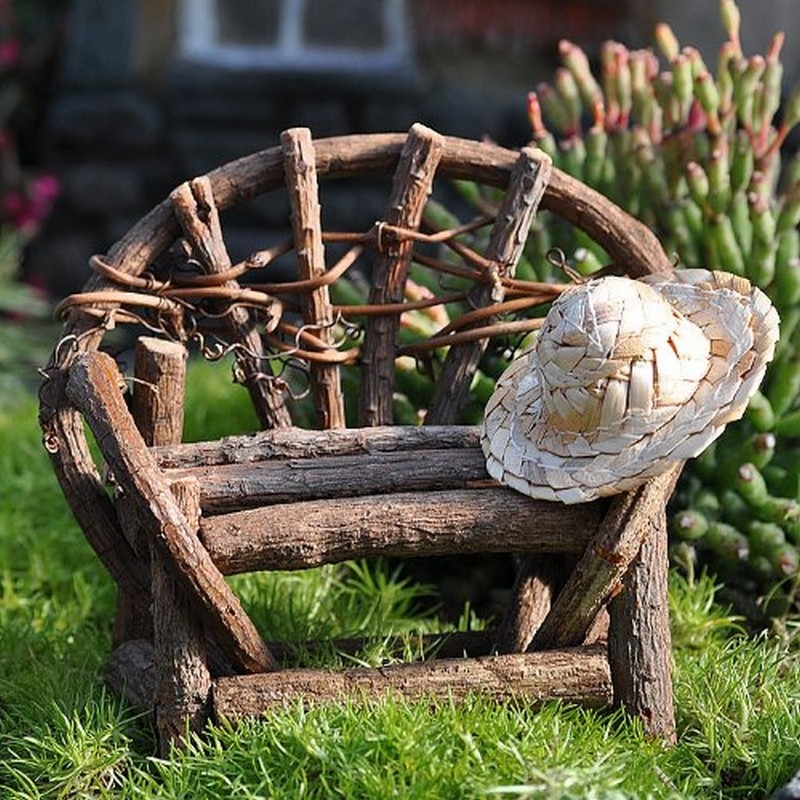 Make Fairy Garden Furniture josaelcom