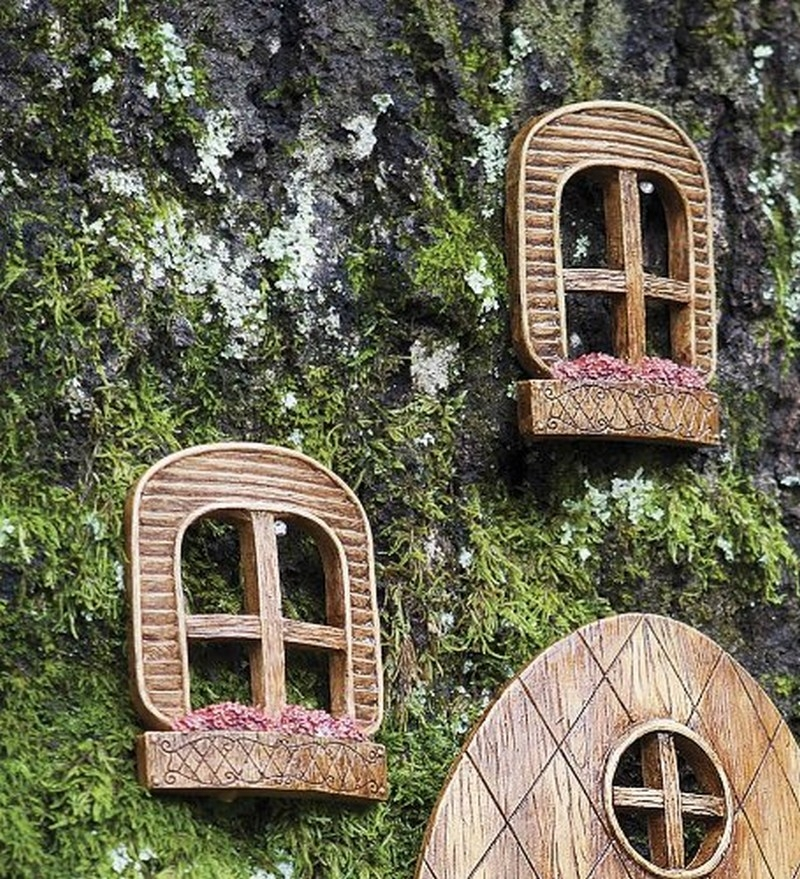 fairy garden accessories door and window - Fairy Garden Accessories