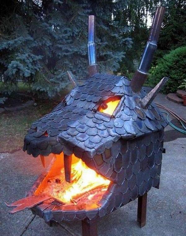 Dragon fire pit anyone?