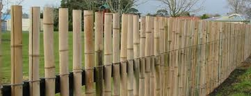 Bamboo Fence Design The Owner Builder Network