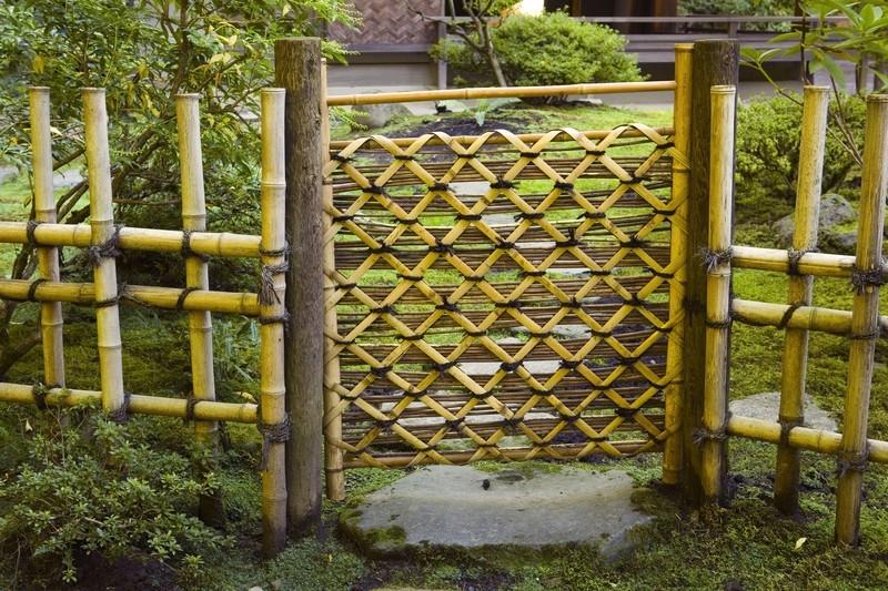 Bamboo Fence - Portland Japanese Garden