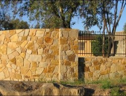 Stone Feature Walls - Brand Fences