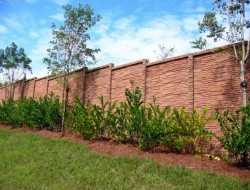 Stone Perimeter Fence - ArchiThings.Com