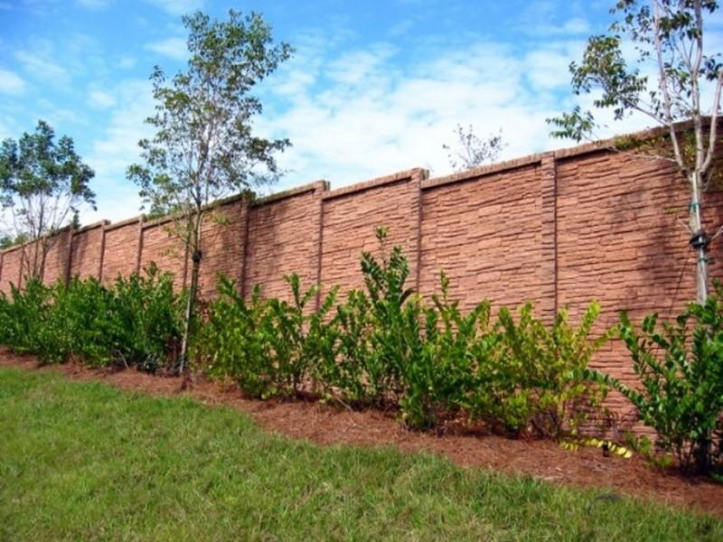 Stone Perimeter Fence - ArchiThings.Com