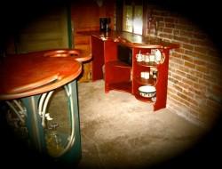 Bar and counter at Studio55