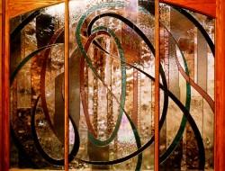Contempory Interior Divider - private commission